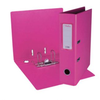 PVC Lever Arch File (Hot Pink)
