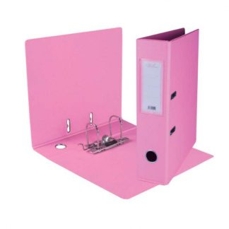 PVC Lever Arch File (Light Pink)