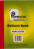 A5 Delivery Book Duplicate