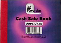 Powerstar A6 Cash Sale Book Duplicate