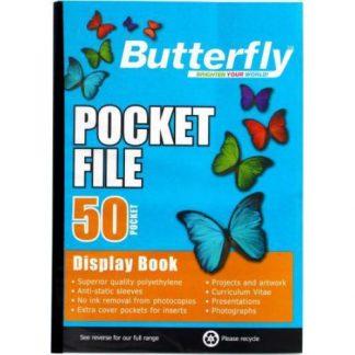 Butterfly Flipfiles (50 pocket)