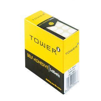 Tower Self-adhesive Labels R10 (10dia)