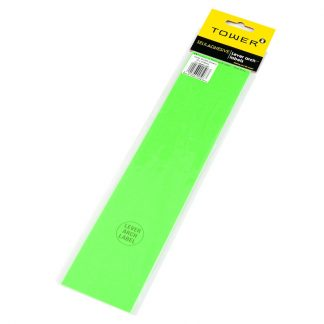 Tower Lever Arch Labels 12's (Flu Green)