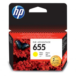 HP 655 Yellow Printer Cartridge