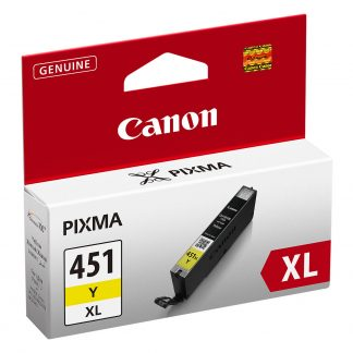Canon CLI-451 XL Yellow Printer Cartridge