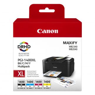 Canon PGI-1400 XL Multipack Printer Cartridges