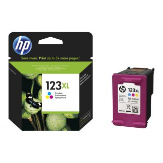 HP 123 XL High Yield Tri-colour Ink Cartridge