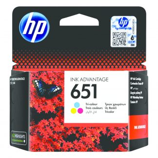 HP 651 Tri-colour Original Ink Advantage Cartridge
