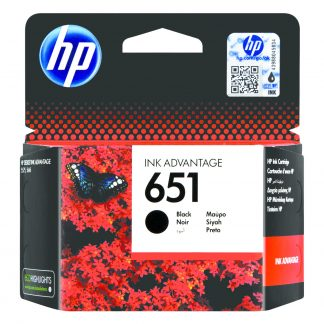 HP 651 Black Printer Cartridge