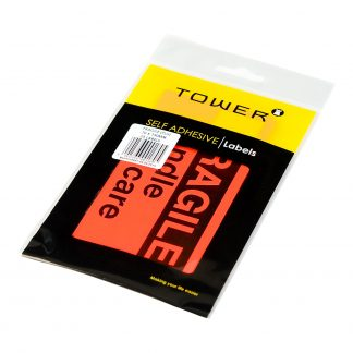 Tower Freight Labels - This Side Up Flu (Pack)