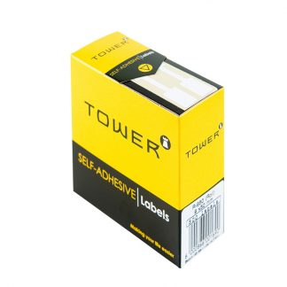 Tower Self-adhesive Rectangular Labels White Roll R950