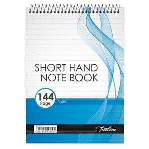 A5 Shorthand Notebook - Wirebound