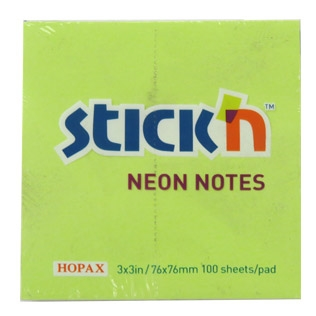 Sticky Note Neon Lime (76x76)