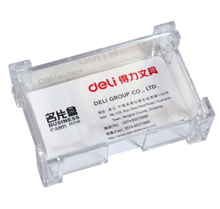 Business Card Holder PVC Clear