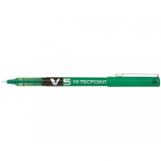 Pilot V5 Hi-Tecpoint 0.5mm Pen Green