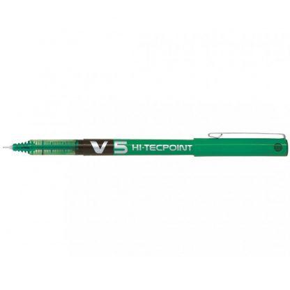 Pilot V5 Hi-Tecpoint 0.5mm Pen Green